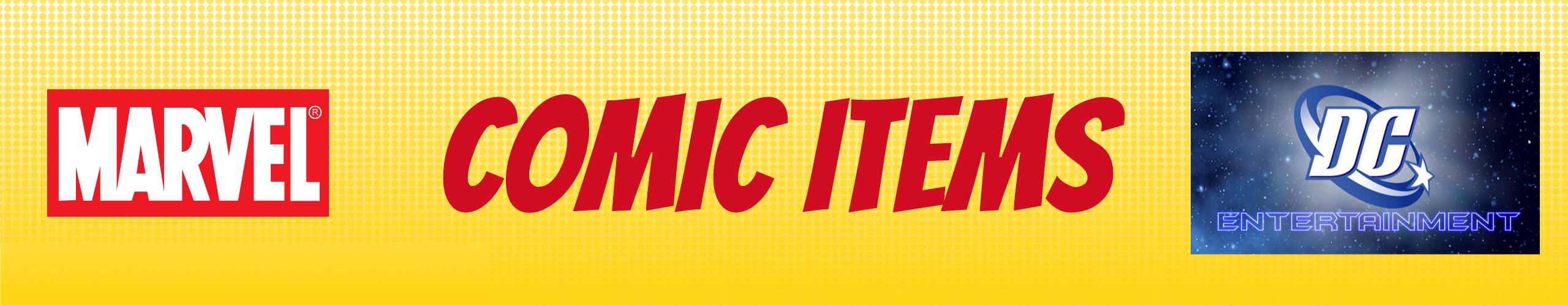 Afbeelding voor de titel Comic Items